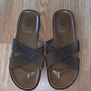 c4210bebd09 UGG Shoes   Jesse Borrego Black Thong Sandals Sz 12   Poshmark